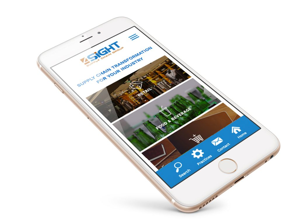 4SIGHT Mobile Website Design