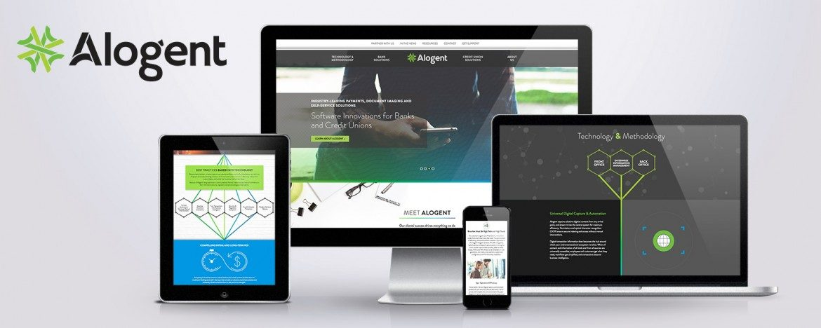 Alogent Responsive Website Design