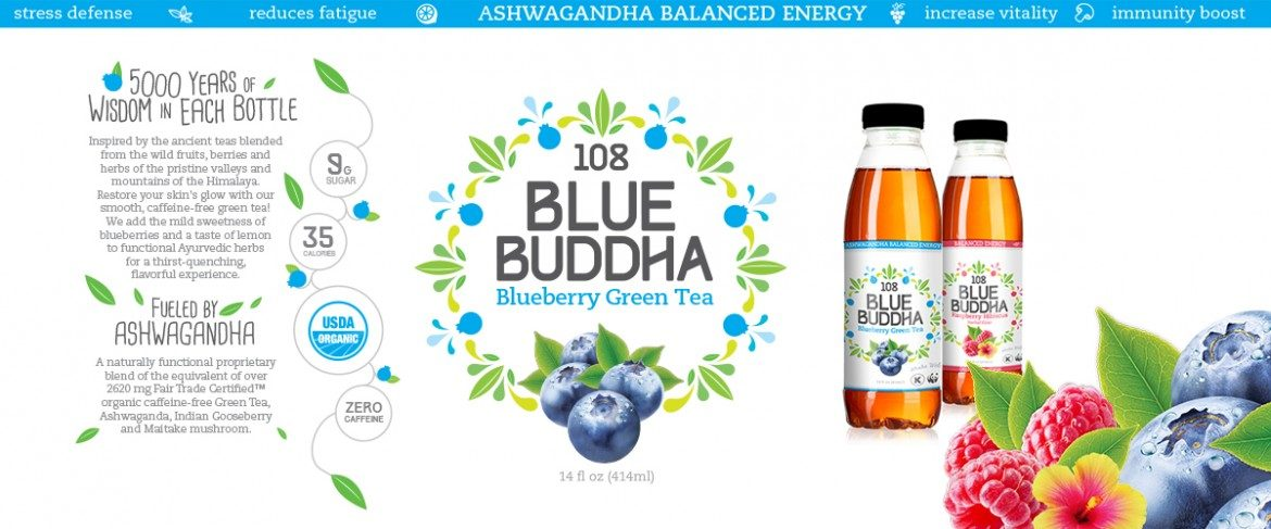 Blue Buddha Branding & Package Design