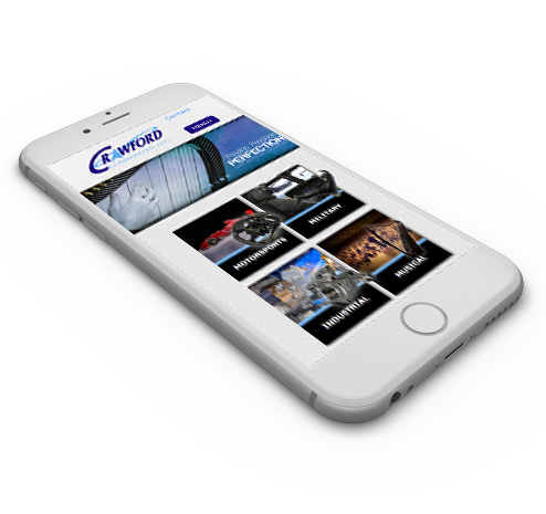 Crawford Mobile Website Design