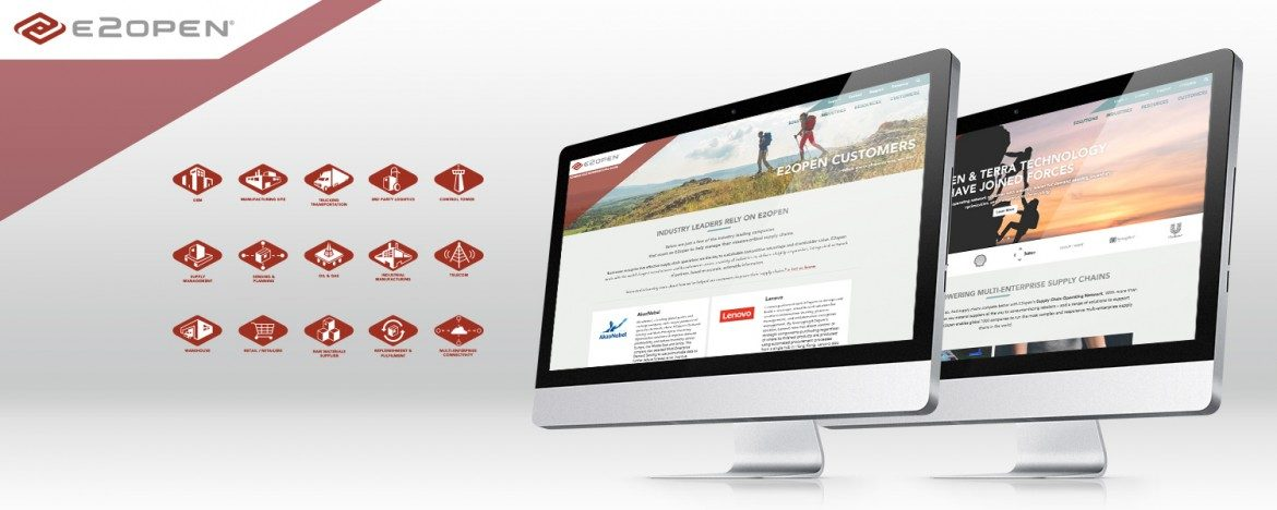E2open Website Design & Development