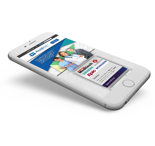 Healthnet Mobile Website Design