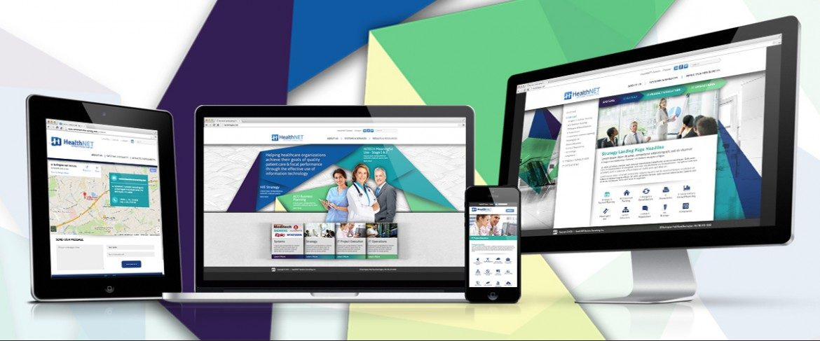 Healthnet Responsive Website Design