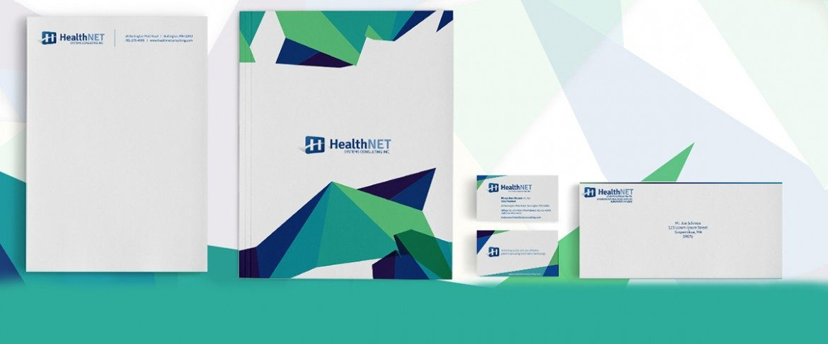 Healthnet Corporate Branding & Collateral