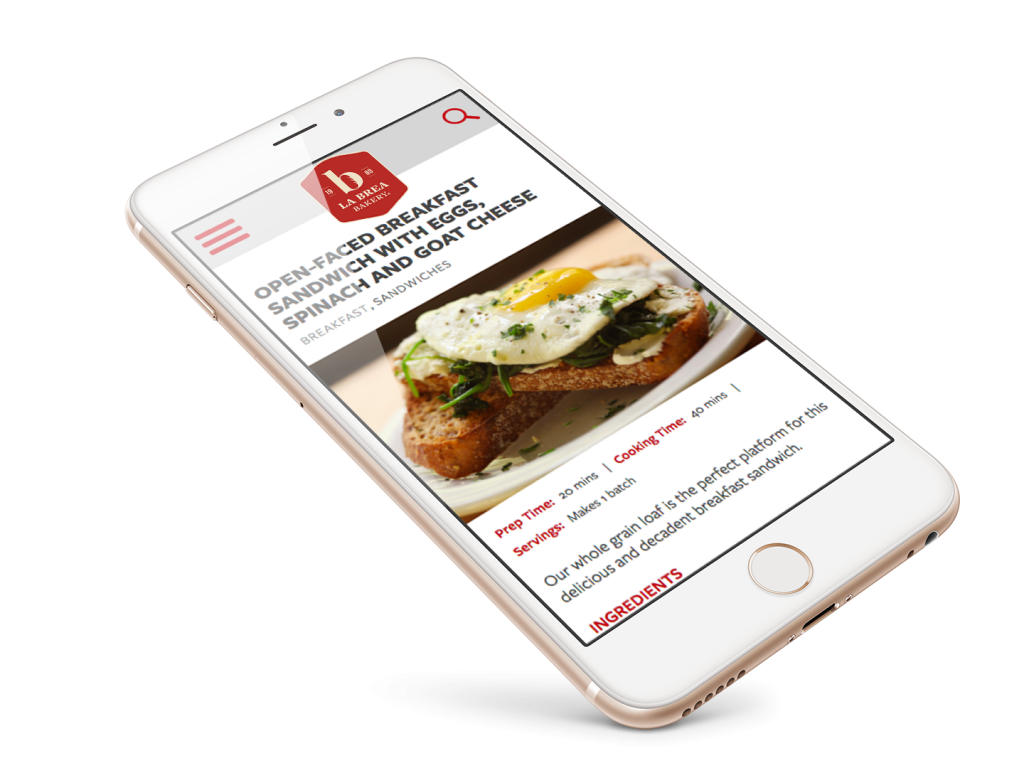 La Brea Mobile Website Design