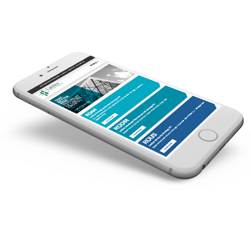 Lattice Mobile Website Design