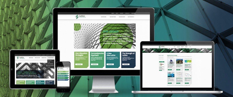 Lattice Responsive Website Design