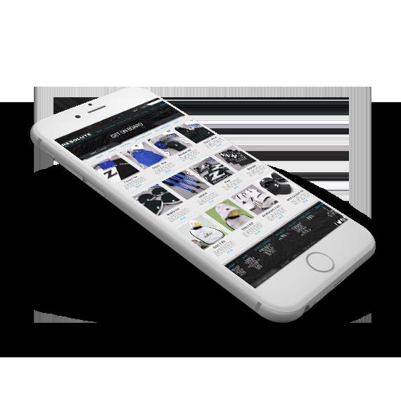 MBF Bio Mobile Website Design