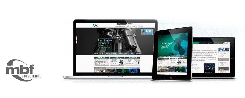 MBF Bio Responsive Website Design