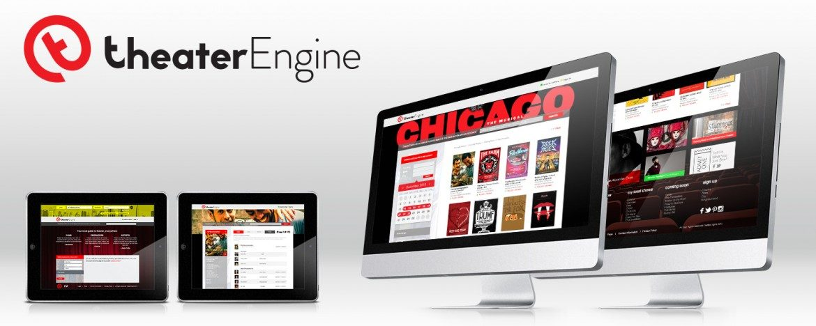 Theater Engine Responsive Website Design