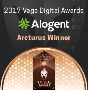 Alogent Website Design Award