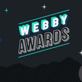 Webby awards banner